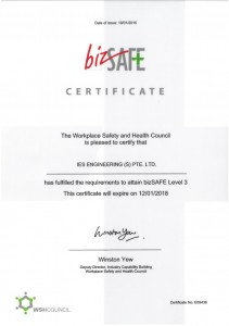 IES Engineering Bizsafe Certified